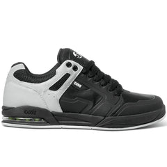 DVS Enduro X Skateboard Shoes - Black/White/Lime 002