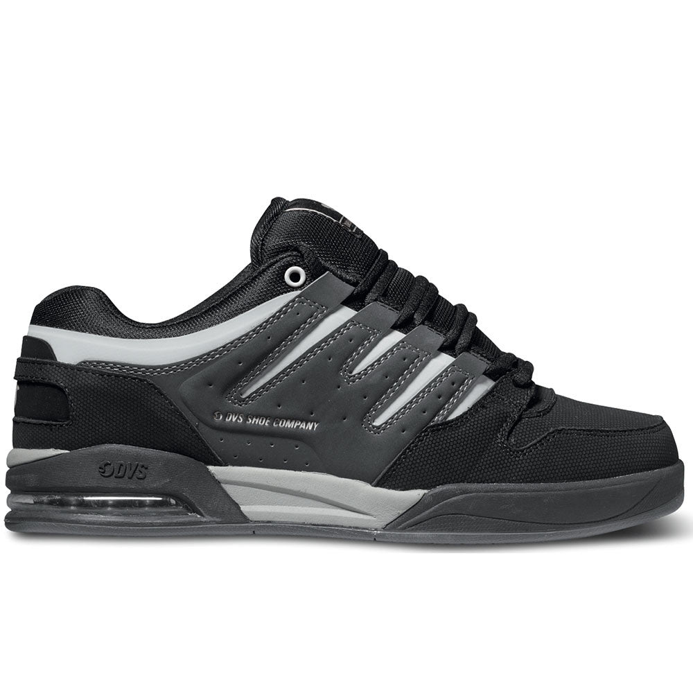 DVS Tycho Skateboard Shoes - Black/Grey/Grey 003