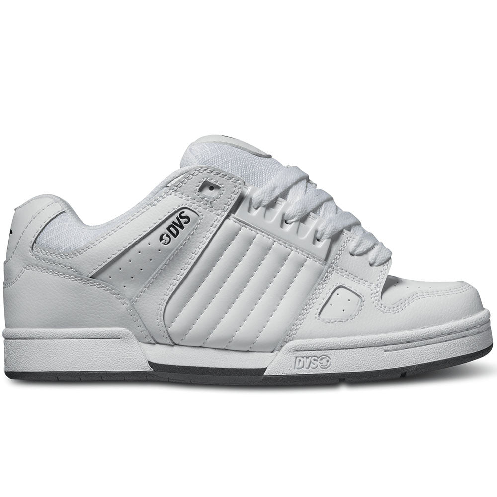 DVS Celsius Skateboard Shoes - White Leather 110