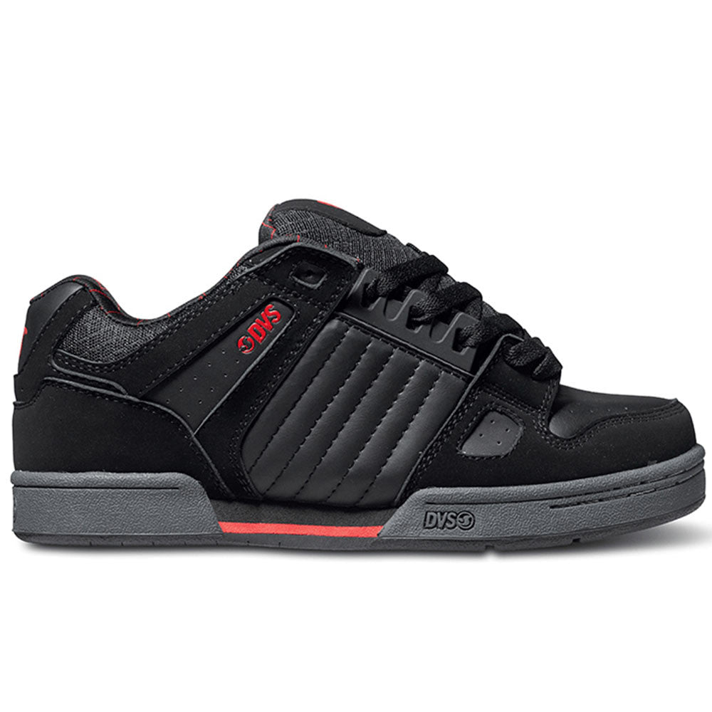 DVS Celsius Skateboard Shoes - Black/Grey/Red 005