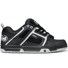 DVS Comanche Skateboard Shoes - Black/Black/White 962