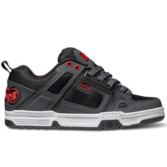 DVS Comanche Skateboard Shoes - Grey/Red/Black 027