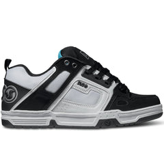 DVS Comanche Skateboard Shoes - Black/White/Black 963