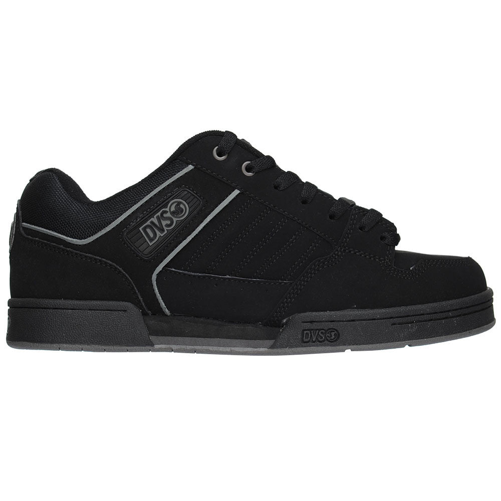 DVS Durham Men's Skateboard Shoes - Black Nubuck
