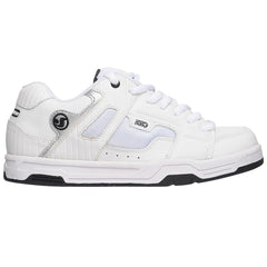DVS Enduro Men's Skateboard Shoes - White Leather