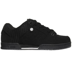 DVS Militia Men's Skateboard Shoes - Black Nubuck