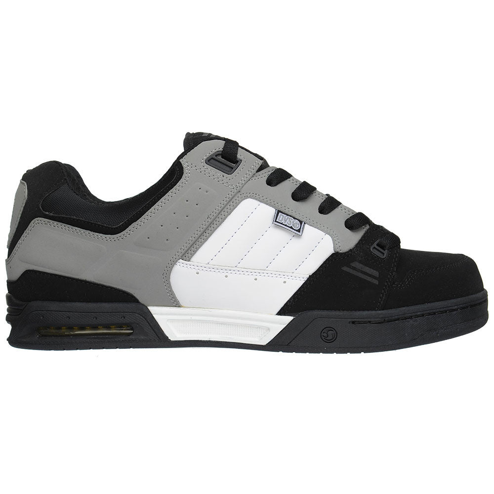 DVS Squadron Men's Skateboard Shoes - Black/White