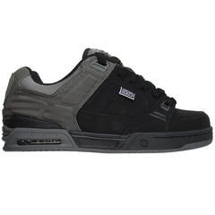 DVS Squadron Men's Skateboard Shoes - Grey/Black Nubuck