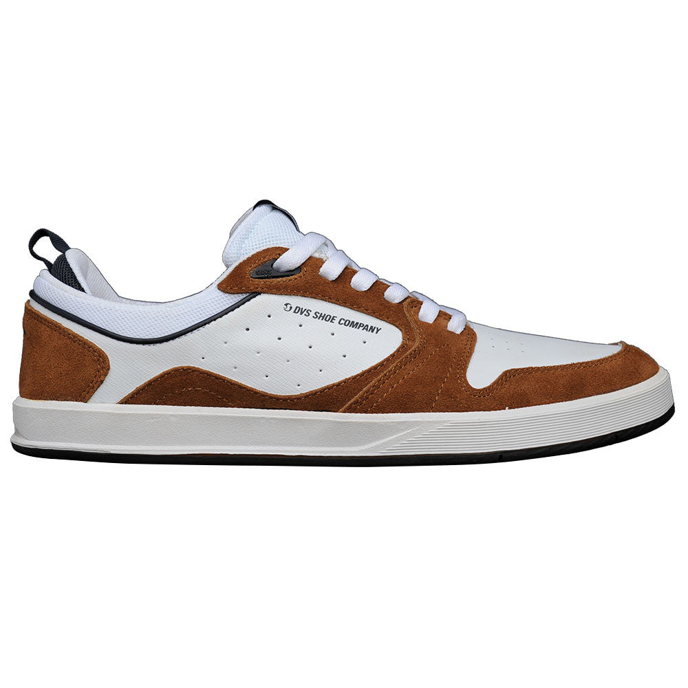DVS Ignition SC Men's Skateboard Shoes - Brown/White Suede 200
