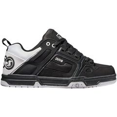 DVS Comanche Men's Skateboard Shoes - Black/White/Black 965