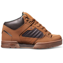 DVS Militia Boot Men's Skateboard Shoes - Brown/Gum 213