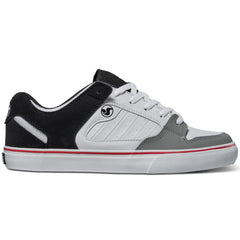 DVS Militia CT Men's Skateboard Shoes - White/Black/Grey 100
