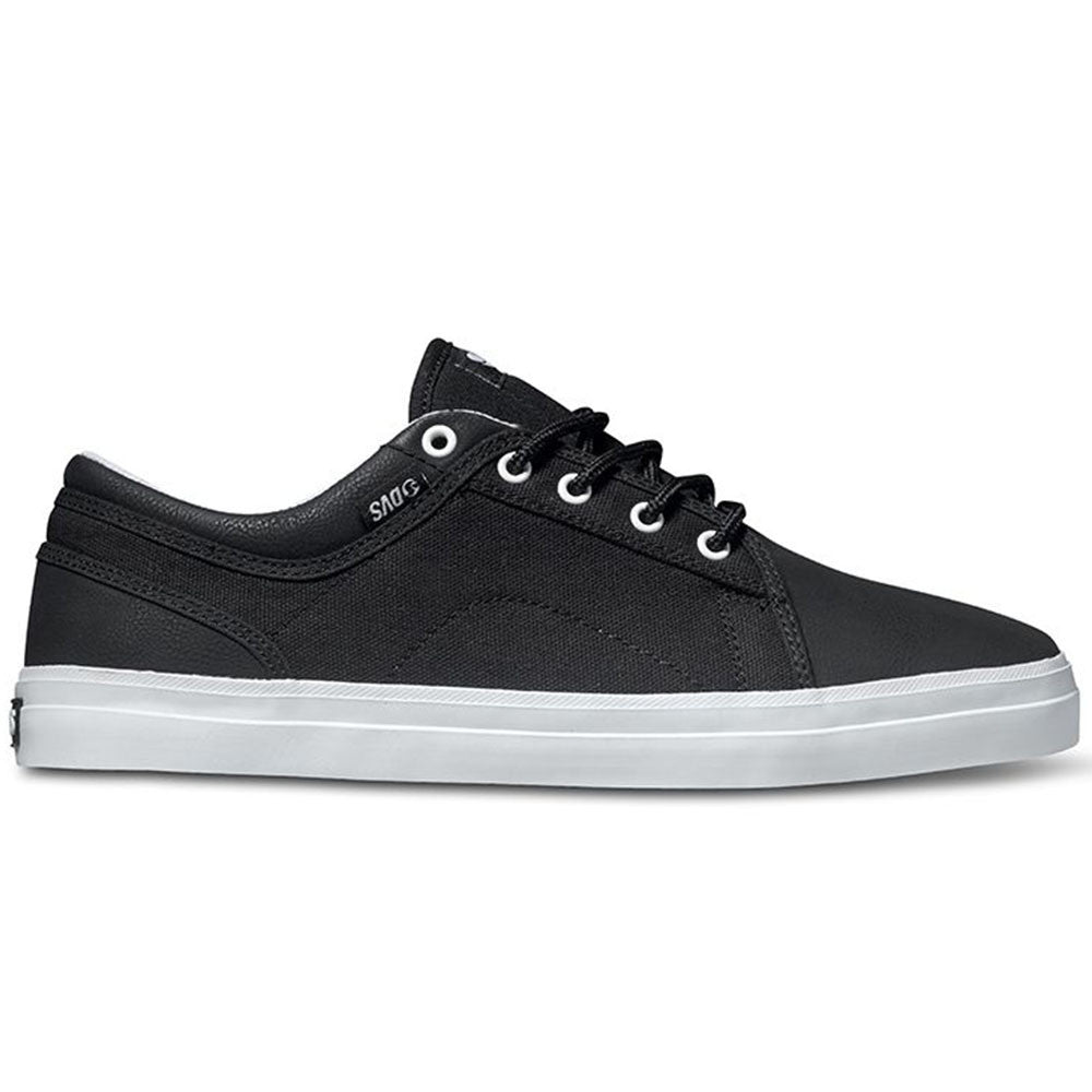 DVS Aversa Men's Skateboard Shoes - Black/Black 011