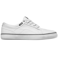 DVS Aversa Men's Skateboard Shoes - White Canvas 110
