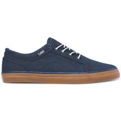 DVS Aversa Men's Skateboard Shoes - Navy Canvas 410