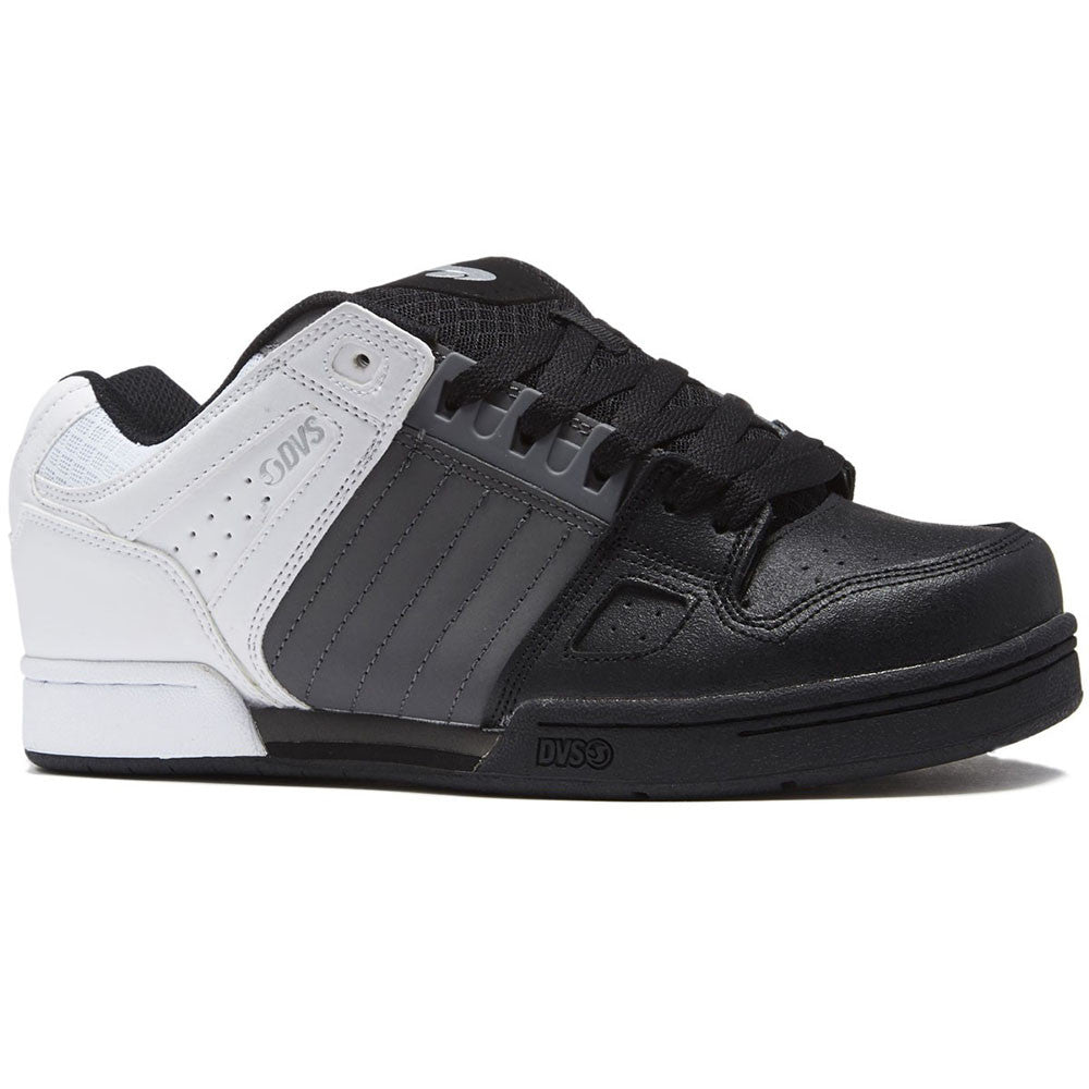 4424dd00024 DVS Celsius Men's Skateboard Shoes - Grey Black White H23 – SkateAmerica