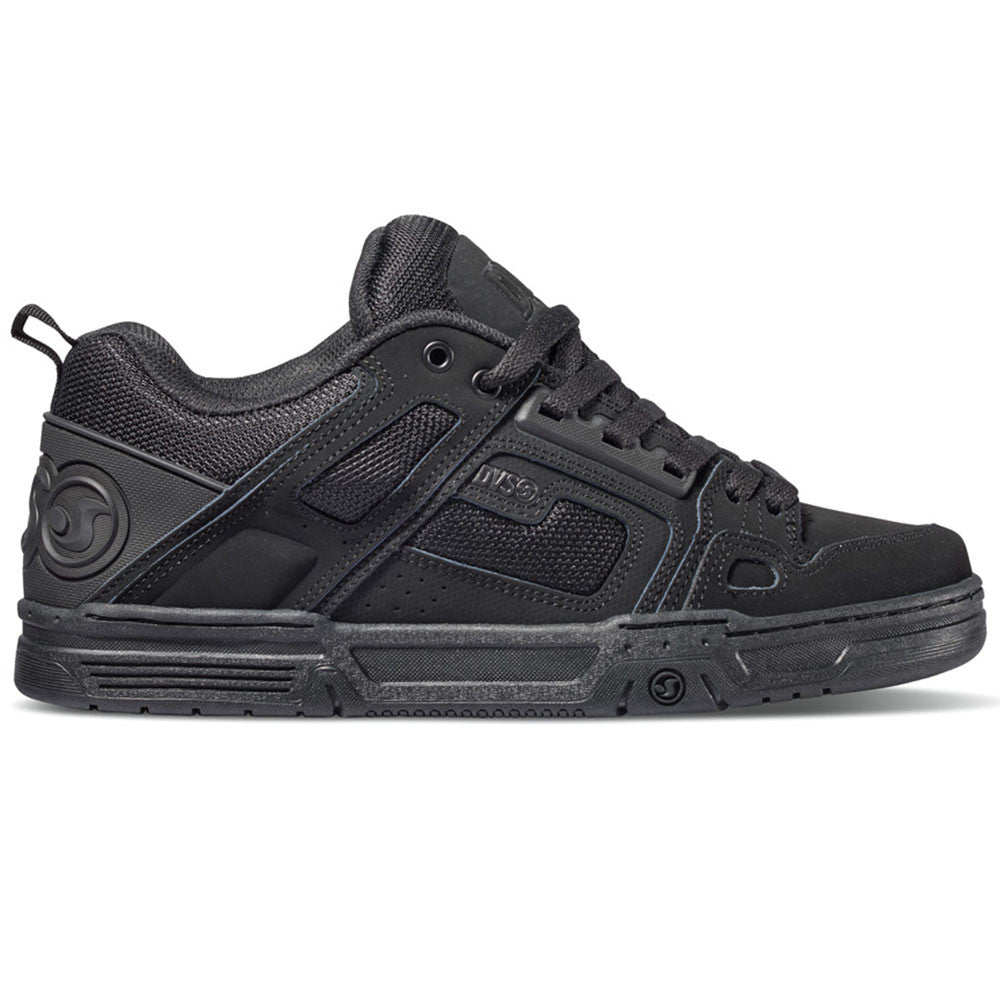 DVS Comanche Men's Skateboard Shoes - Black/Black/Black 967