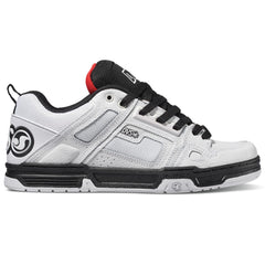 DVS Comanche Men's Skateboard Shoes - White/Black/Red 111