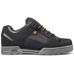 DVS Militia Men's Skateboard Shoes - Black Nubuck Sherpa 969