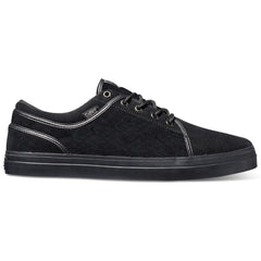 DVS Aversa Men's Skateboard Shoes - Black/Black 960