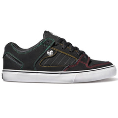 DVS Militia CT Men's Skateboard Shoes - Black/Rasta 017