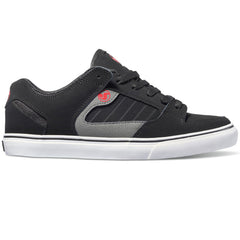 DVS Militia CT Men's Skateboard Shoes - Black/Grey/Red 960