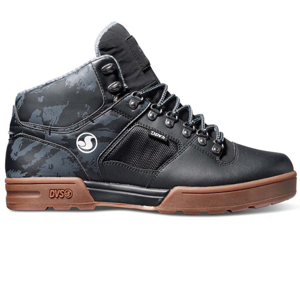 DVS Westridge Men's Skateboard Shoes - Black/Camo/Gum 010