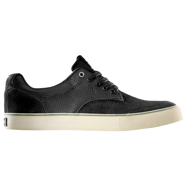 Dekline TimTim Skateboard Shoes - Black/Woodbire/Perf