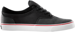 Dekline Keaton Skateboard Shoes - Black/Red/White