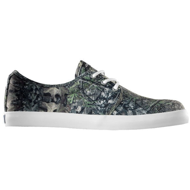 Dekline River Skateboard Shoes - Real Tree Camo/Antique Canvas