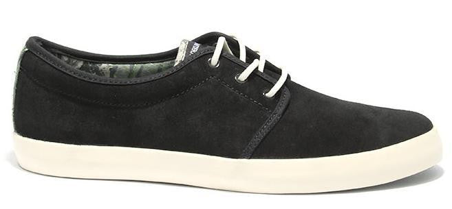 Dekline River Skateboard Shoes - Black Suede/Real Tree Camo Suede