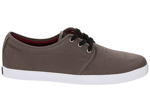 Dekline River Skateboard Shoes - Charcoal/Burgundy