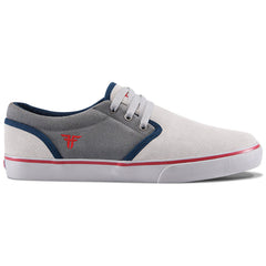 Fallen The Easy Men's Shoes - Newsprint Grey/Blood Red