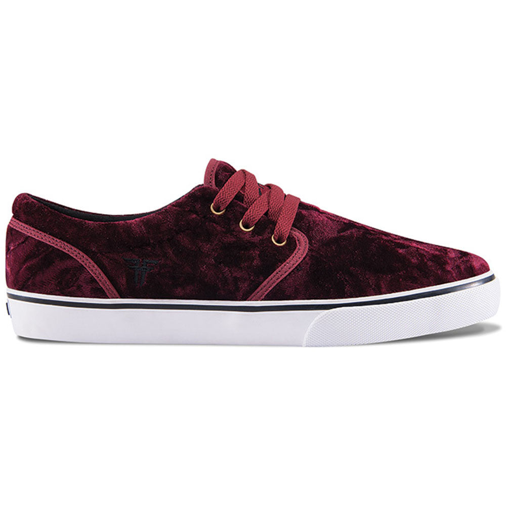 Fallen The Easy Men's Shoes - Oxblood Velvet