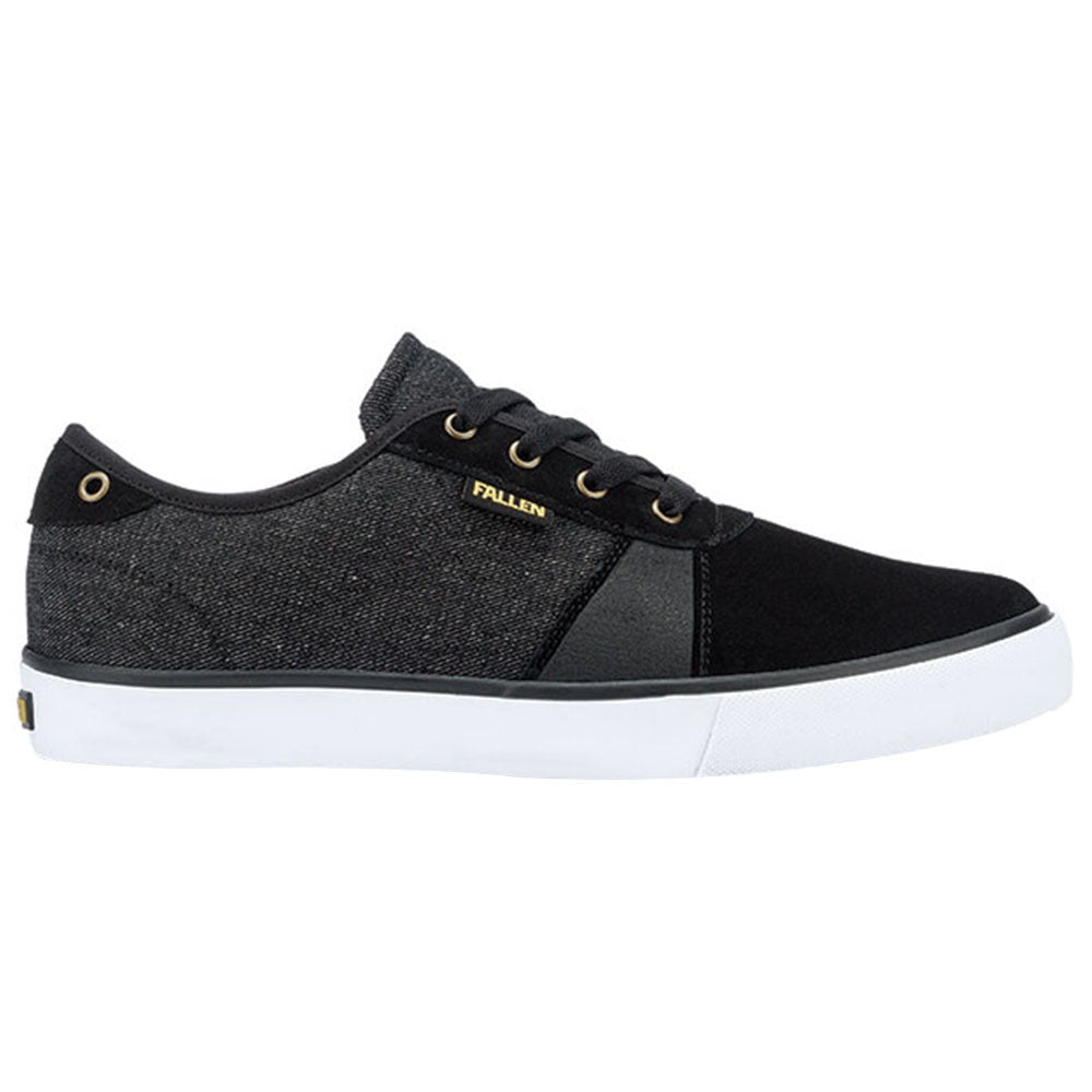 Fallen Strike Men's Shoes - Black/Denim/Gold