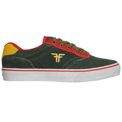 Fallen Brian Hansen Slash Men's Skateboard Shoes - DK Forest/Red/Gold