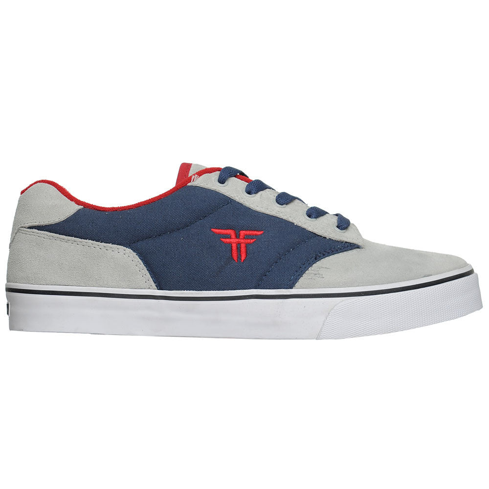 Fallen Brian Hansen Slash Men's Skateboard Shoes - Silver/Navy Red