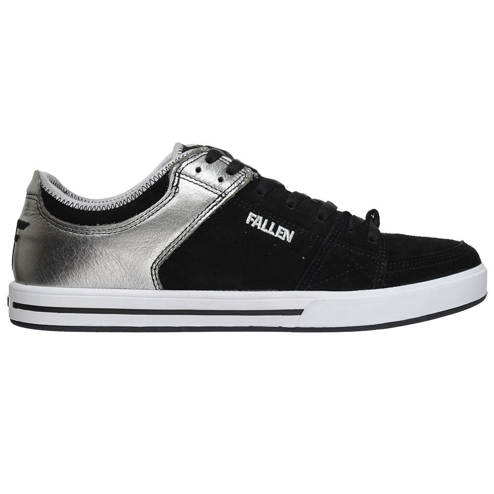Fallen Chris Cole Trooper SL Men's Skateboard Shoes - Black/Silver