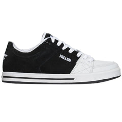 Fallen Chris Cole Trooper SL Men's Skateboard Shoes - Black/White