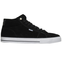 Fallen Garrett Hill Corsair Men's Skateboard Shoes - Black/White
