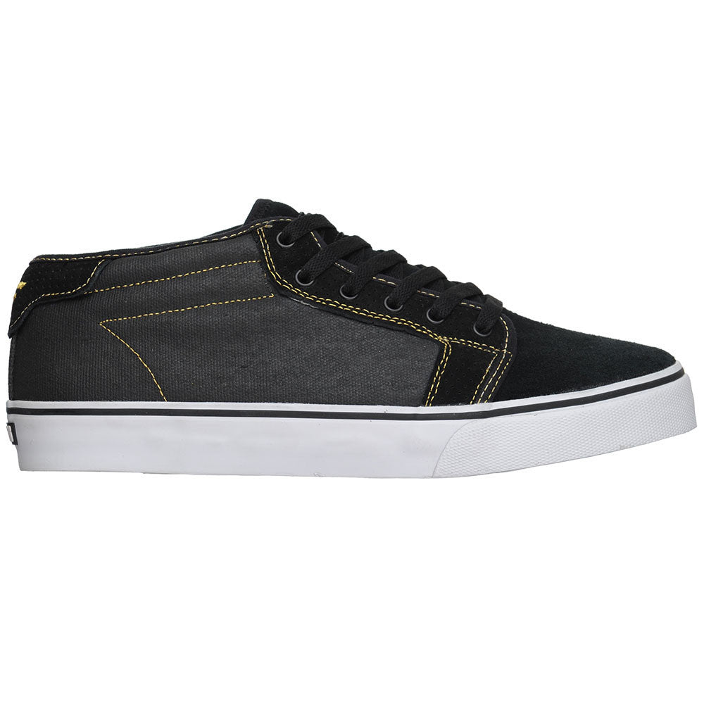 Fallen Jamie Thomas Forte Mid Men's Skateboard Shoes - Black/Gold