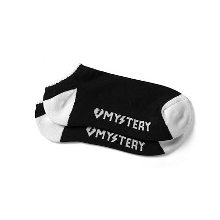 Mystery Lo-cut Socks - Black/White (1 Pair)