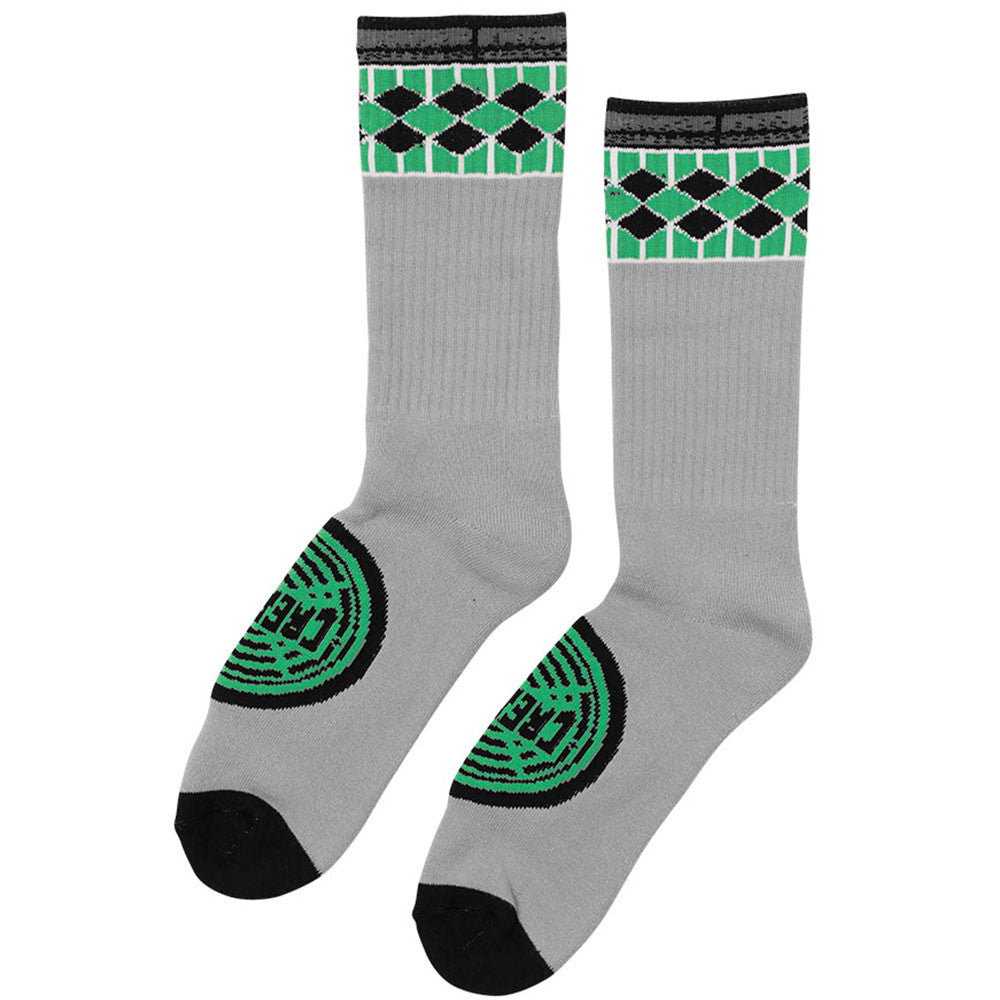 Creature Winchester Tall Crew Men's Socks - Grey (2 Pairs)