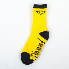 Diamond OG High Cut Men's Socks - Yellow/Black (3 Pairs)