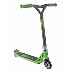 Grit Tremor Grom Scooter - Acid Green/Satin Grey