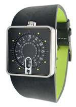 Lip Mythic Watch - Black/Green