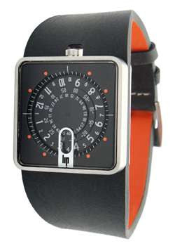 Lip Mythic Watch - Black/Orange