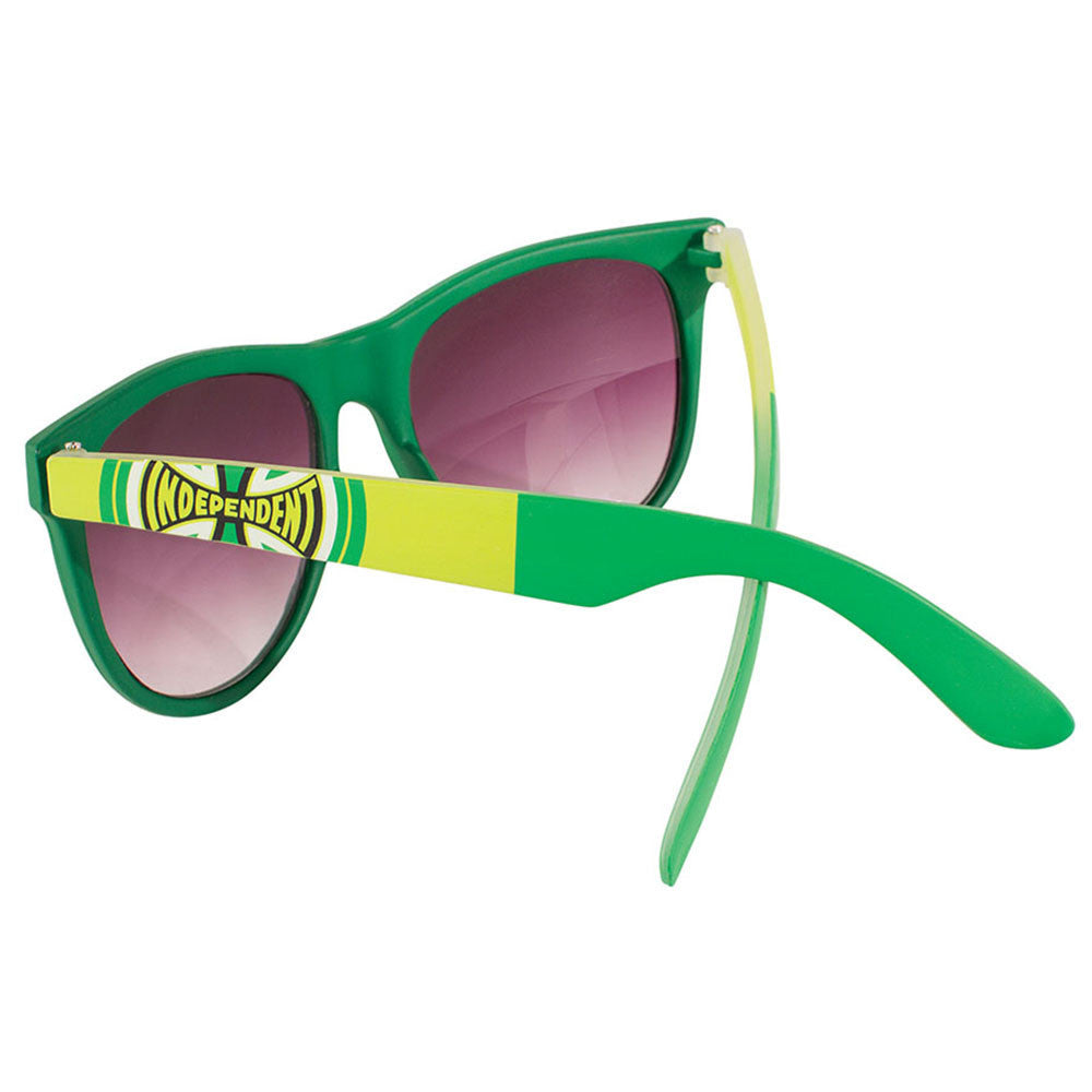 Independent DONS Square O/S Sunglasses - Dark Green/Light Green