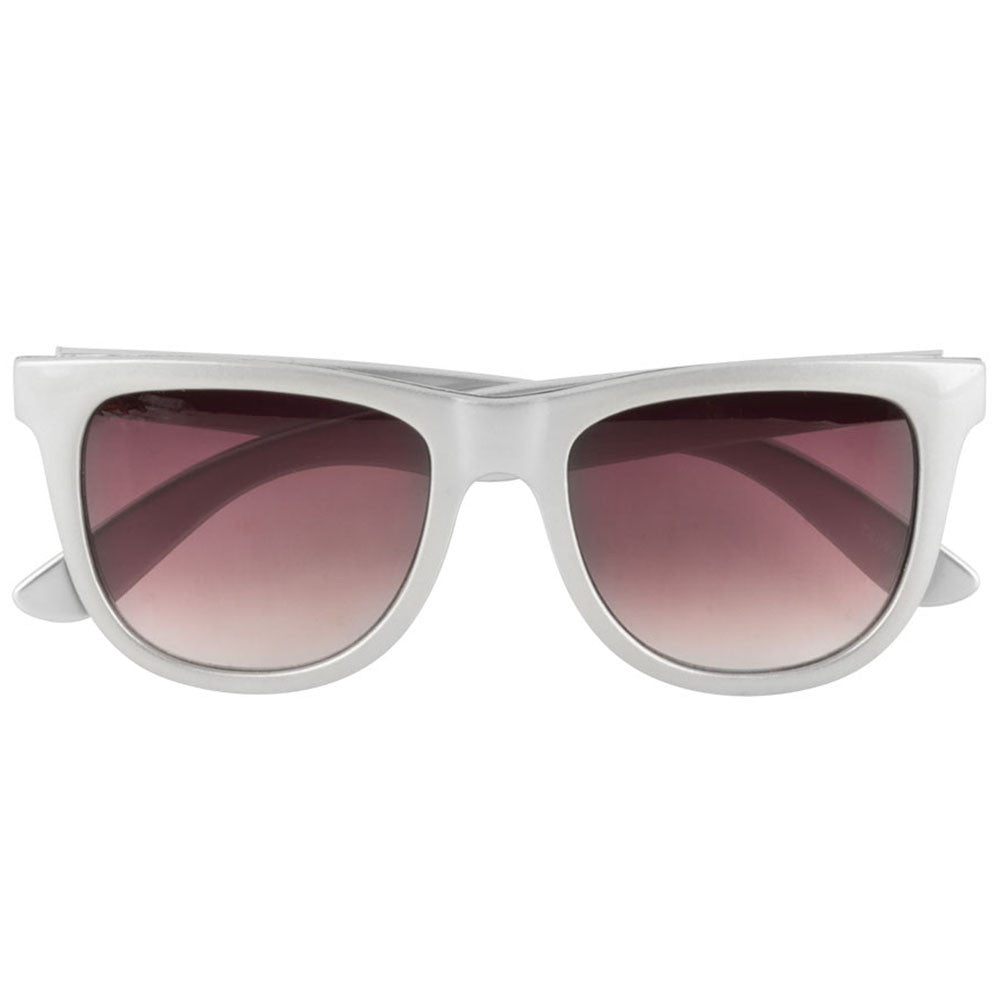 Independent Base O/S Sunglasses - Metallic Silver