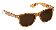 Glassy Leonard Sunglasses - Snake Brown